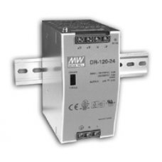 Блок питания DR-120-12 120W/10A, 12 VDC Power Supply,176-264VAC/254-370VDC input