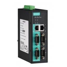 Сервер NPort IA5450AI-T 4-port RS-232/422/485 advanced, DB9, dual 10/100BaseT(X), Isolation, t:-40/+75