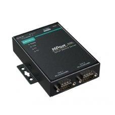 Сервер NPort 5250A-T 2 port RS-232/422/485 advanced, DB9, t:-40/+75