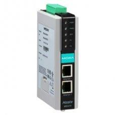 Преобразователь MGate MB3270 2 Port RS-232/422/485 Modbus TCP to Serial Gateway,din rail
