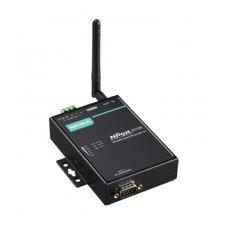 Сервер NPort W2150A-T 1 Port Wireless Device Server, 3-in-1, 802.11 a/b/g WLAN, 12-48 VDC, t:-40/+75, без адаптера питания