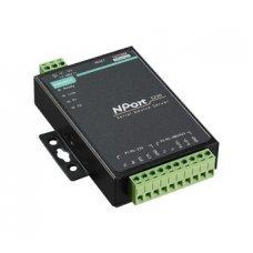 Сервер NPort 5230-T 1 Port RS-422/485,1 port RS-232, t:-40/+70, без адаптера питания