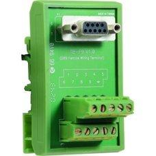 Переходник TB-F9 DB9 female DIN-Rain Wiring Terminal