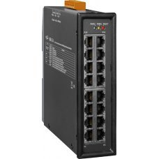 Модуль NSM-216 CR Unmanaged 16-port Industrial 10/100 Base-TX Ethernet Switch with metal casing (RoHS)