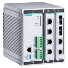 Коммутатор EDS-608 Compact managed Ethernet switch, 2 slots for 4-port fast Ethernet, total up to 8 ports