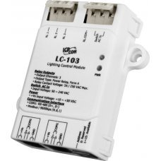 Модуль LC-103 CR 1-channel AC Digital Input and 3-channel Relay Output Lighting Control Module