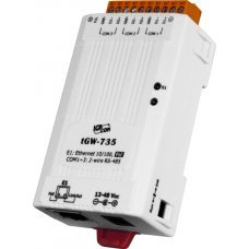 Модуль tGW-735 CR Tiny Modbus/TCP to RTU/ASCII gateway with PoE and 3 RS-485 Ports (RoHS)