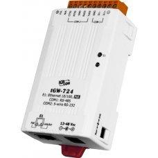 Модуль tGW-724 CR Tiny Modbus/TCP to RTU/ASCII gateway with PoE and 1 RS-232 and 1 485 Ports (RoHS)