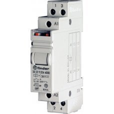 Модуль RM-20.22 2 Pole 16 A Step relays for direct 35 mm rail (EN 50022) mounting