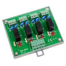 Модуль DN-PR4/N CR 4-channel power relay module,1 from C without DIN-Rail Mount