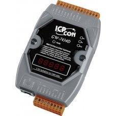 Модуль GW-7434D-G CR Modbus/TCP server to DeviceNet master Gateway (RoHS)