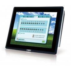 "Панельный компьютер PPC-F15AA-H81i-P/4G/PC 15"" 400 cd/m2 XGA Panel PC with Intel H81 chipset, Pentium Dual Core G3220 Processor (3M Cache, 3.00 GHz), TDP 53W, 2GB RAM*2, support iRIS-2400, black color, PSU ACE-A622A, projective capacitive touch windo"