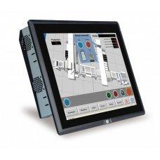 "Панельный компьютер PPC-F15AA-H81i-i3/4G/R 15"" 400 cd/m2 XGA Panel PC with Intel H81 chipset, Core i3 Dual Core i3-4330 Processor (4M Cache, 3.50 GHz), TDP 54W, 2GB RAM*2, support iRIS-2400, black color, PSU ACE-A622A, resistive touch window"