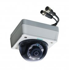 Камера VPort P16-1MP-M12-IR-CAM36-CT-T EN50155, HD image, fixed-dome IP camera, PoE, M12 connector, IR, MIC, 1DI, 3.6mm lens, t: -40/70, coating