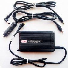 Адаптер переменного и постоянного тока комбинированный Panasonic PCPE-LNDAC01 LIND AC/DC combo adapter with cables, 90W (12-16V) for CF-19/ CF-20/ CF-31/ CF-52/ CF-53/ CF-54/ CF-AX2/AX3/ CF-C1/ CF-D1/ CF-F9/ CF-H2/ CF-U1/ FZ-B2/ + FZ-F1/N1/ FZ-G1/ FZ