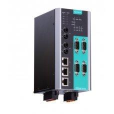 Асинхронный сервер NPort S9450I-2M-SC-HV-T 4-port Device Server,3Ethernet,2multi SC FO Managed Switch,88-300 VDC/85-264 VAC,10/100M, t: -40/85