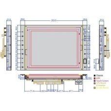 Панельный компьютер VOX-104-TSw/ VDX-6526       10.4
